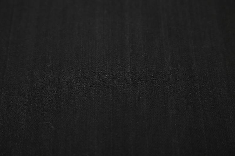 オレンジ耳ブラックデニム キバタ ec00226