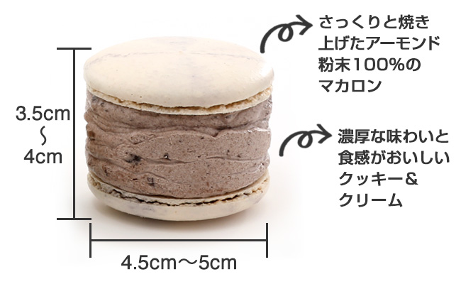 【トゥンカロン】オレオ味_商品説明
