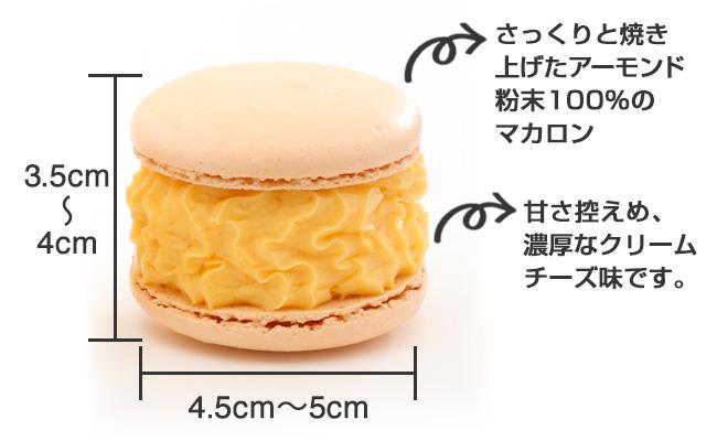 【トゥンカロン】イエローチーズ味_商品説明