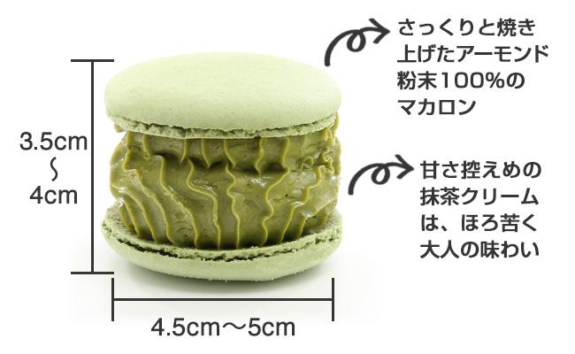 【トゥンカロン】抹茶味_商品説明