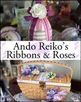 """リボンクラフトの世界""""Ribbons&Roses"""""""