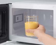 強化ガラス容器採用でレンジ過熱OK