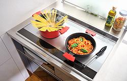 両手深型鍋・両手フライパンをIH電磁調理器で調理!