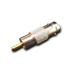 BNCプラグ-ピン(RCA)端子変換プラグ[AD312・319]