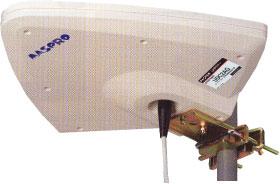 オートブースター内蔵 簡易型 UHFテナーセット【UDC2AG-SET】