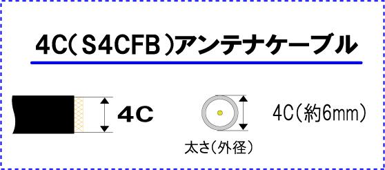 地上波デジタル対応アンテナケーブルFプラグ⇔接栓 FBT700/GLF-WG