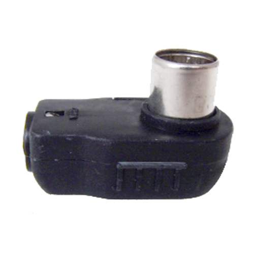 アンテナプラグ黒(2個入り)【1個¥245×2個】F型同軸プラグ《 FZ-NP2BK 》