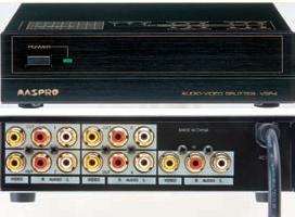 AV分配器・映像・音声分配器 VSP4