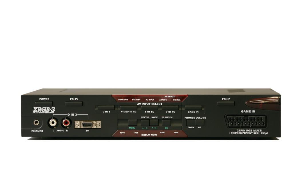 【マイコンソフト】【送料無料!】フルデジタル・アップスキャンコンバーターユニット≪XRGB-3≫