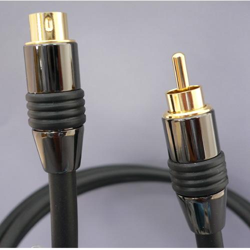 S端子-ピン(RCA)端子変換ケーブル1.5m[FVCRS15]