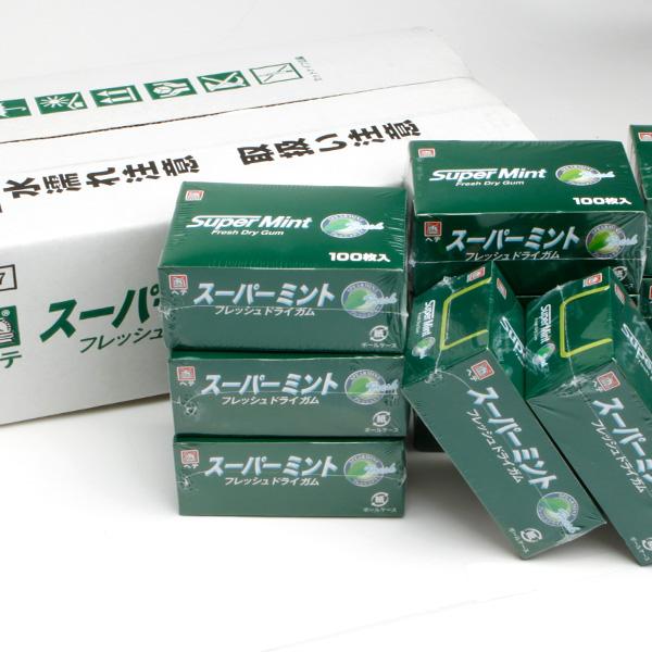 【ヘテ】 業務用 スーパーミント ガム (100枚×12)