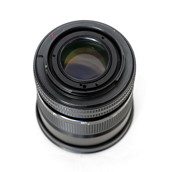 EOS改造カールツァイス製QBM プラナー85mm F1.4 HFT★Modified Canon EF Carl Zeiss QBM Planar HFT 1.4/50