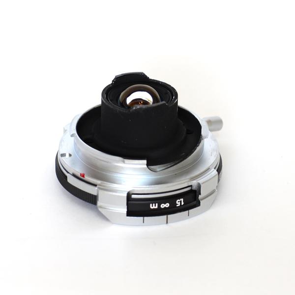コンタックスGホロゴン16mmのライカM改造★Contax G Hologon 16mm→Leica M (距離計非連動)