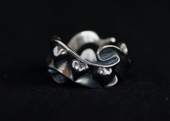 RIBBON with HEART RING