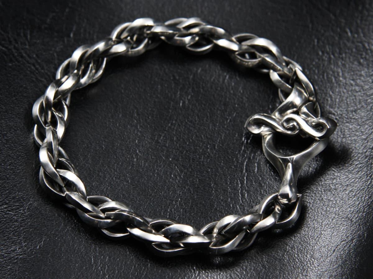 Two Face Skull Bracelet