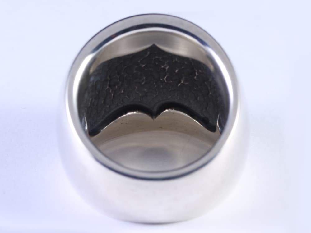 DOMED RING -WIDE-
