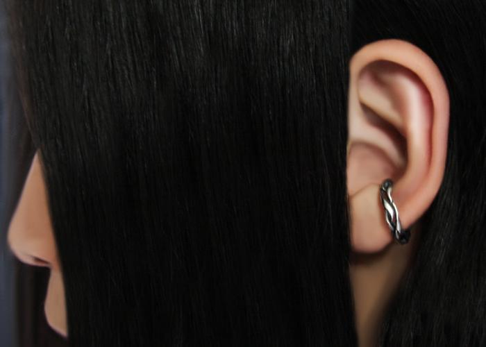 UNDULATE FLARE EAR CUFF (S)