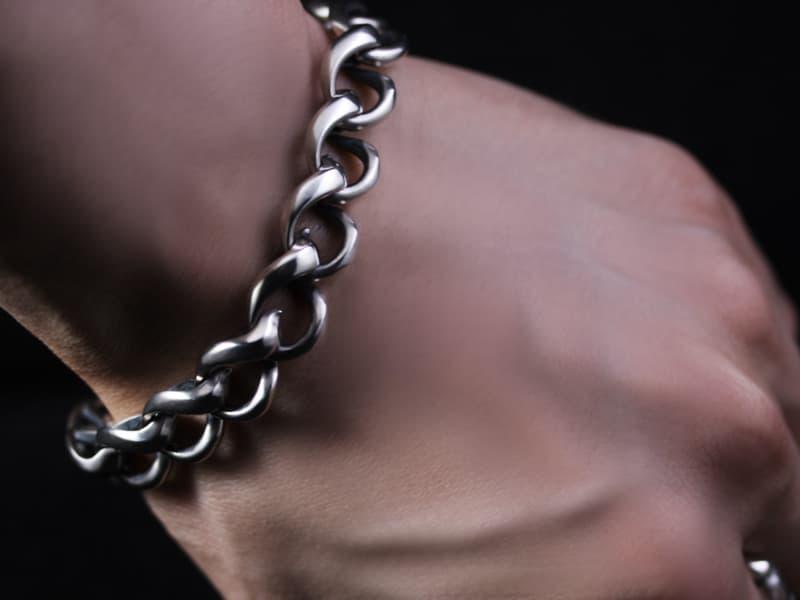 """Chain of """"KAIKA"""" Flare Bracelet S"""