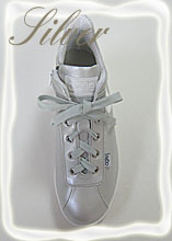 ルコライン靴(アージレ)スニーカー RUCOLINE靴 NO.123SI(シルバー)送料無料