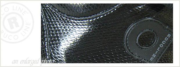 ルコライン靴(アージレ) 2013秋冬 新作 マンタ(蛇柄)スニーカー RUCO LINE靴 NO.114BK