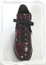 ルコライン靴(アージレ)マンタ(蛇柄)スニーカー RUCO LINE靴 NO.114WI 送料無料
