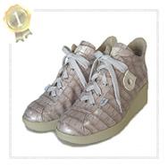 イタリア人気ルコライン(アージレ)靴2014夏、エナメル風光沢コーティング